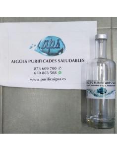 Botella Cristal de 700 ml (0,70L) tapón Roscado. VERTEX
