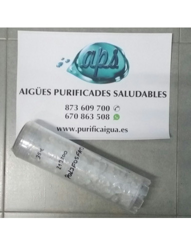 Filtro de piedras de Polifosfato anti-incrustantaciones de cal