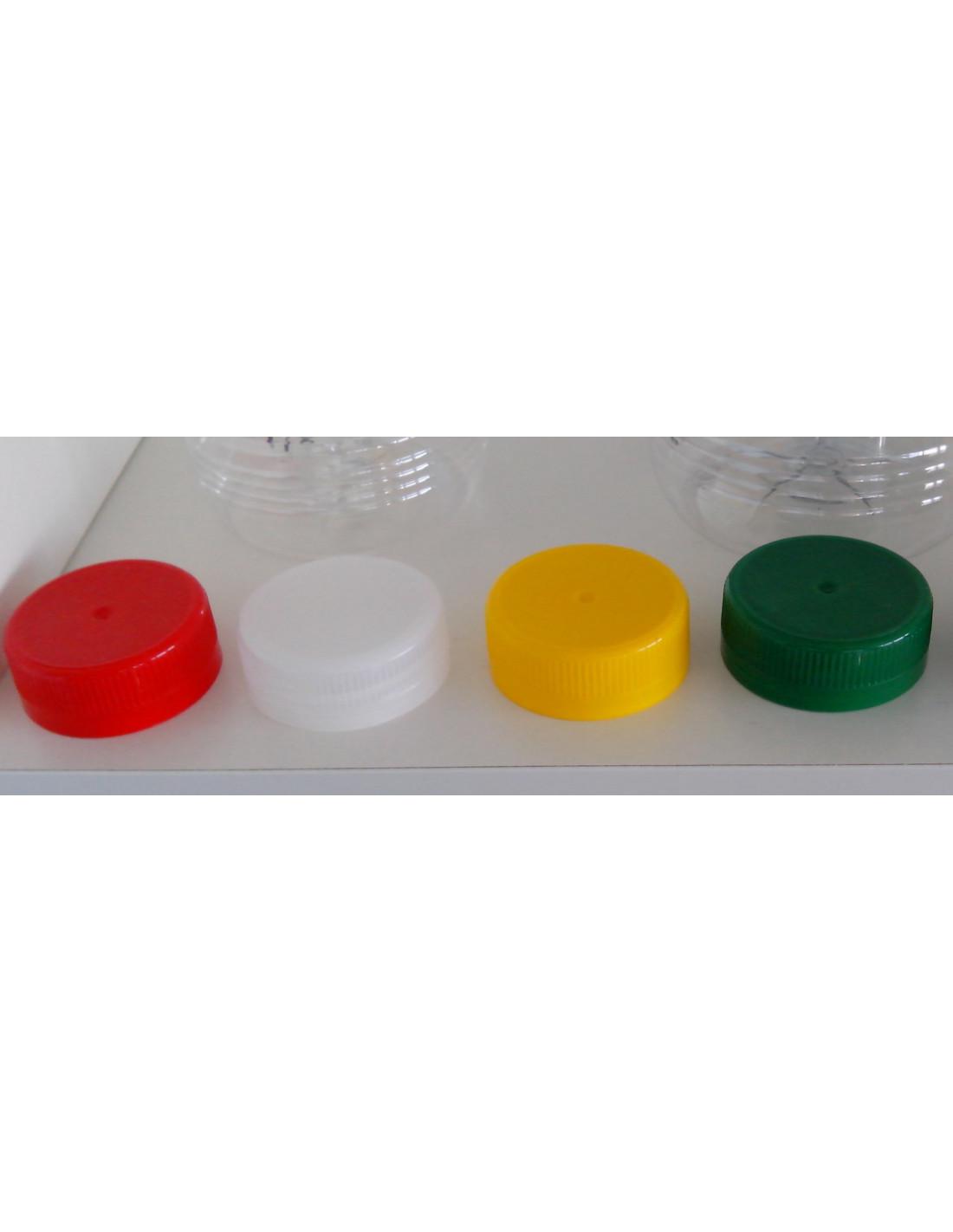 colores disponiobles de los tapones