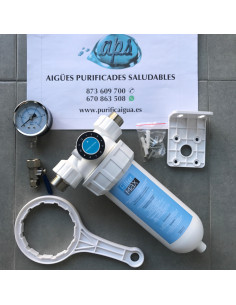Prefiltro de sedimentos autolavable FilterMax para descalcificador